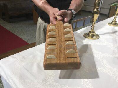 The communion bread